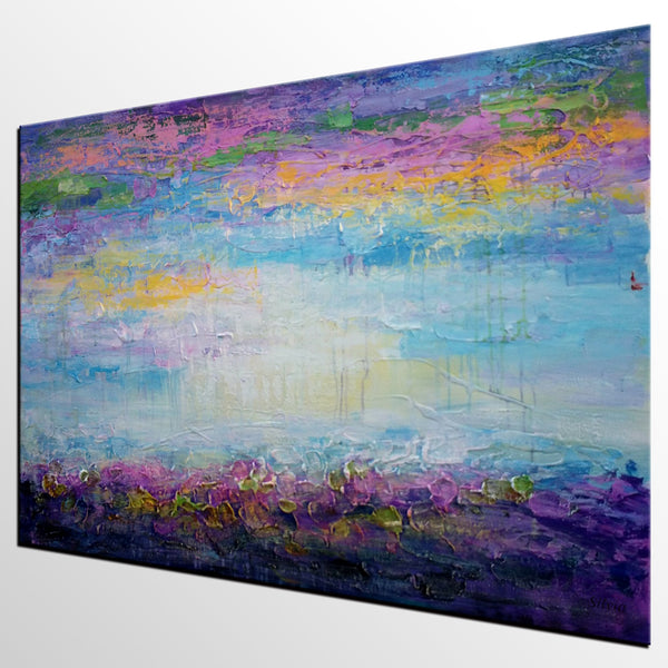 Large Painting, Canvas Art, Framed Art, Abstract Landscape Painting, Original Art, Canvas Oil Painting, Abstract Art, Large Art, Wall Art