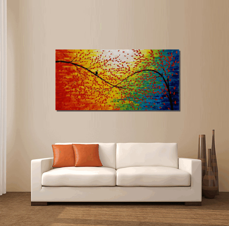 Living Room Wall Art Modern Art Original Artwork