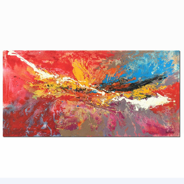 Abstract Painting, Modern Art, Large Wall Art Canvas, Large Landscape Painting, Original Art, Abstract Canvas Painting, Abstract Landscape - Art Painting Canvas