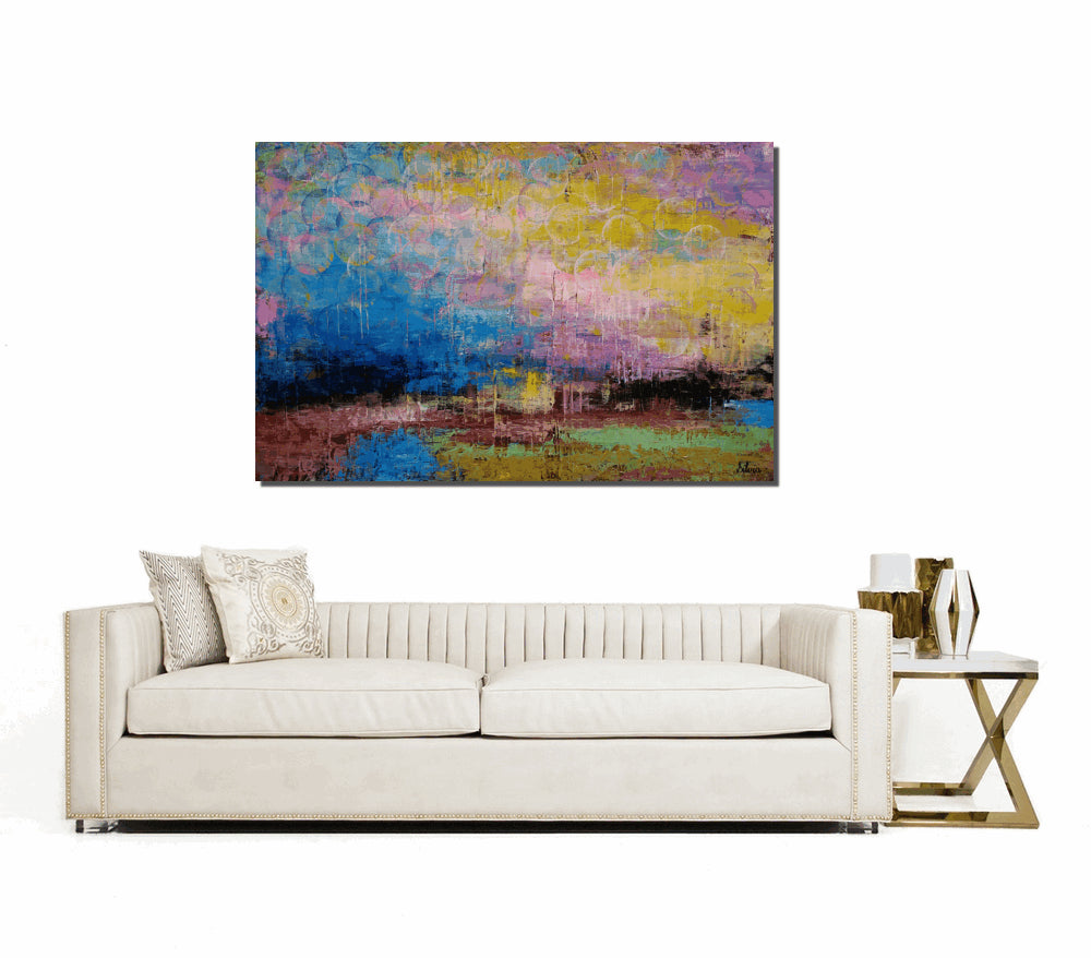 Large Art Landscape Painting Canvas Abstract