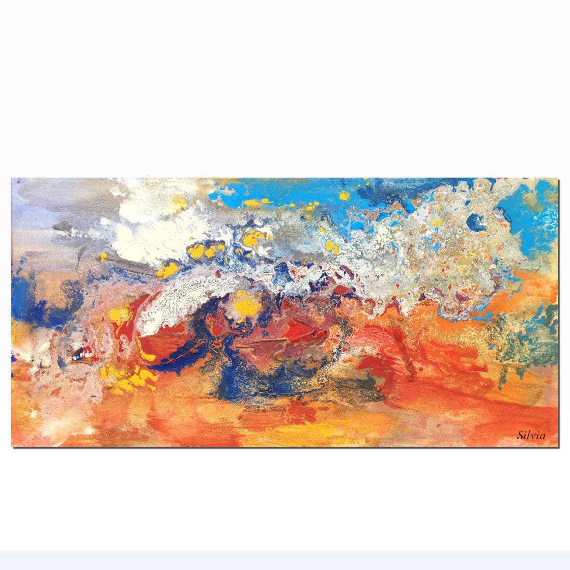 Abstract Painting, Abstract Canvas Art, Oil Painting, Canvas Painting, Abstract Art, Home Art, Contemporary Art, Original Art, Abstract Landscape - Art Painting Canvas