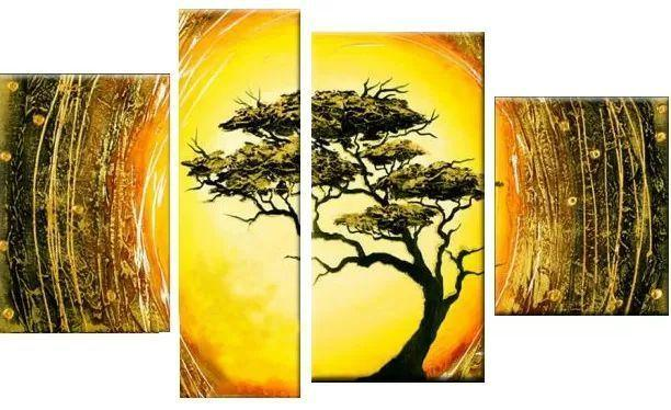 Tree of Life Painting, Living Room Wall Art, Contemporary Art for Sale