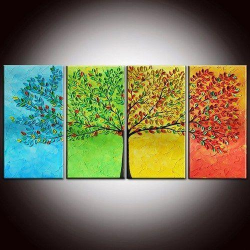 Abstract Art, Tree of Life Painting, Extra Large Wall Art, Painting for Sale - Art Painting Canvas