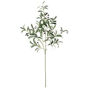 Artificial Olive branch, Artificial Botany Plants, Silk Flower Arrangement - Art Painting Canvas