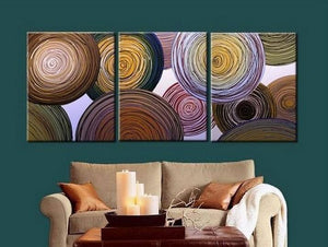 Wall Art, Large Painting, Abstract Canvas Painting, Abstract Painting, Living Room Wall Art, Modern Art, 3 Piece Wall Art, Ready to Hang
