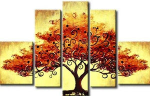 Extra Large Wall Art, Tree of Life Painting, Bedroom Canvas Painting, Buy Art Online