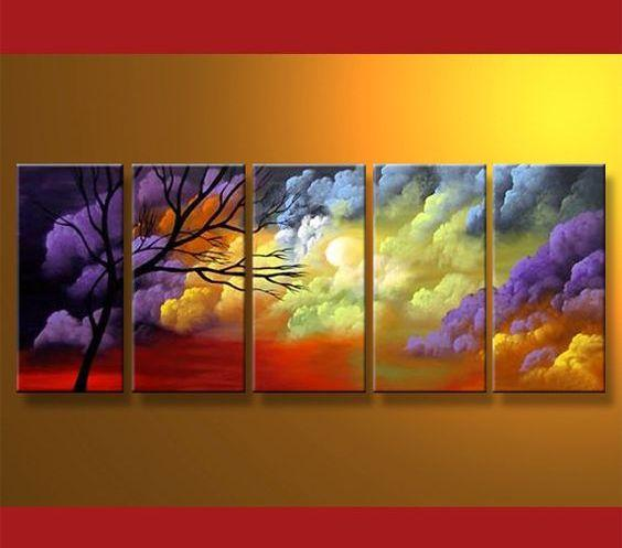 Abstract Art, Tree of Life Painting, Extra Large Wall Art, Huge Art, Large Painting, Painting for Sale - Art Painting Canvas