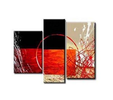 Bedroom Wall Art, Living Room Wall Art, 3 Piece Wall Art, Abstract Art Decor