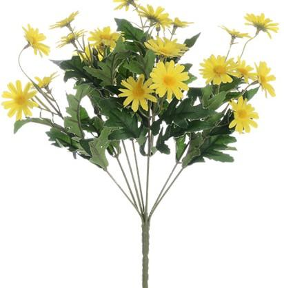 Wild Daisy Flower, Faux Flower, Real Touch Flowers, Artificial Silk Floral Arrangement