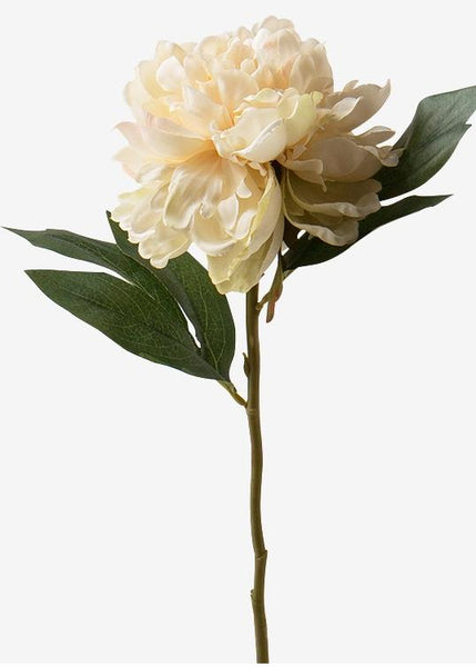 Peony Flower Arrangement, Silk Flower Centerpiece, Artificial Flower Decor, Rustic Centerpiece, Table Decor, Summer Floral Faux Flower