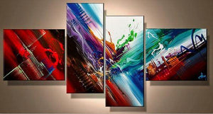 Abstract Canvas Art, Extra Large Painting, Living Room Wall Art, Modern Art for Sale - Art Painting Canvas