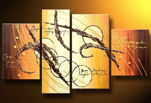 Abstract Art Painting, Living Room Wall Art, Contemporary Art for Sale - Art Painting Canvas