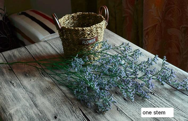 Dried Flowers, A Bunch Dried Limoniums, Flower Bunches, Dried Floral Arrangements