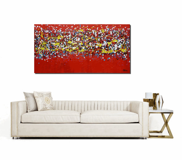 Canvas Wall Art, Abstract Art, Large Art, Contemporary Painting, Abstract Painting, Wall Art, Oil Painting, Large Art, Acrylic Painting - Art Painting Canvas