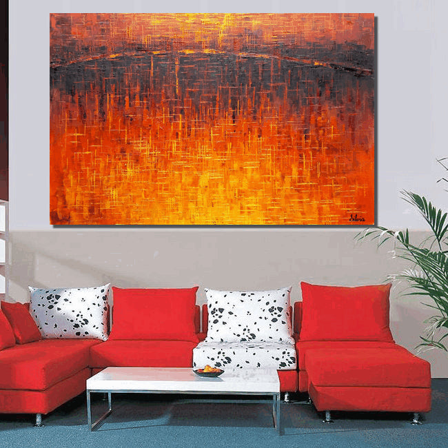 Large Painting, Abstract Landscape Paintnig, Abstract Art, Original Art, Wall Art, Oil Painting, Canvas Art, Large Painting, Abstract Art