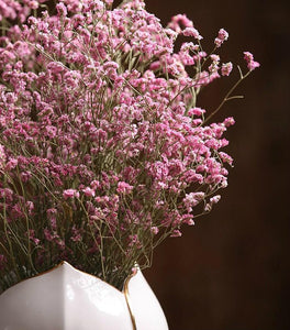 Decorative Grass, Floral arrangements, bouquets, dried pink crystal flowers, dried grass