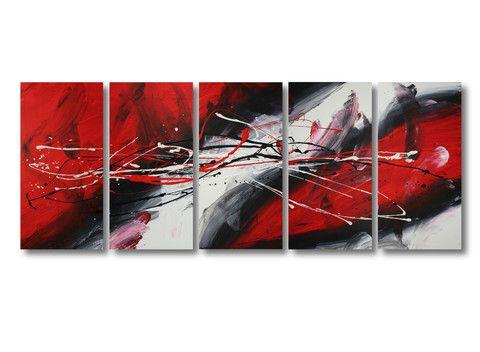 Large Acrylic Painting, Modern Abstract Painting, Wall Art Painting for Living Room, Painting for Sale-Grace Painting Crafts