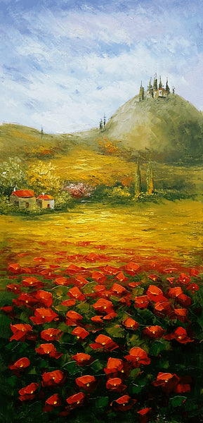 Wall Painting, Landscape Painting, Large Oil Painting, Palette Knife Painting, Canvas Painting, Oil Painting, Original Oil Painting Landscape, Canvas Art