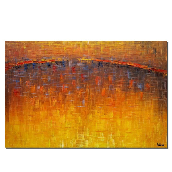 Art Painting - Abstract Oil Painting, Original Art, Canvas Painting, Contemporary Painting, Office Decor, Canvas Art , Painting Framed - Art Painting Canvas