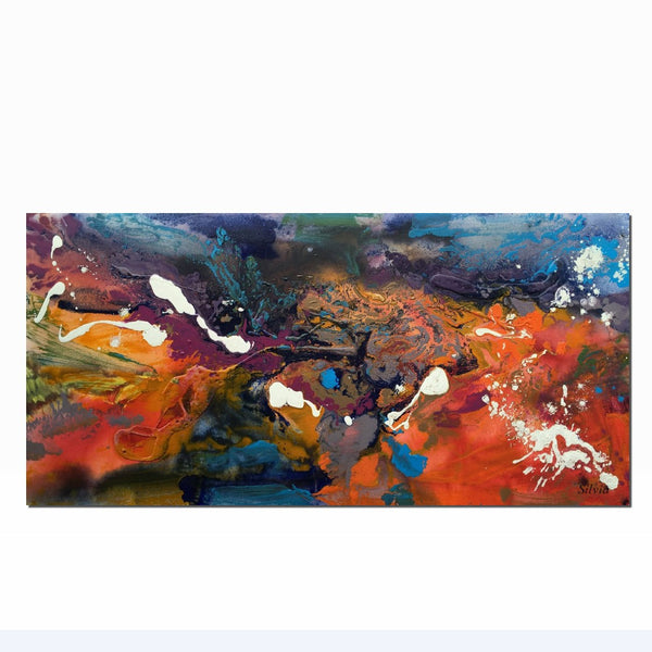 Contemporary Painting, Abstract Canvas Art, Kitchen Art, Large Oil Painting, Abstract Wall Art, Abstract Painting, Original Artwork