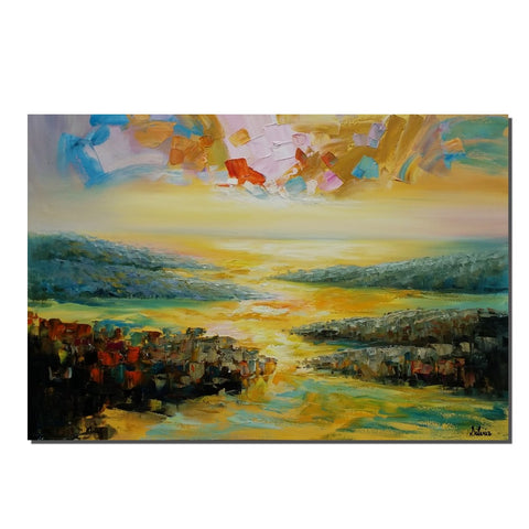 Abstract Painting, Oil Painting, Modern Painting, Large Painting, Canvas Wall Art, Original Painting, Abstract Landscape Painting - Art Painting Canvas