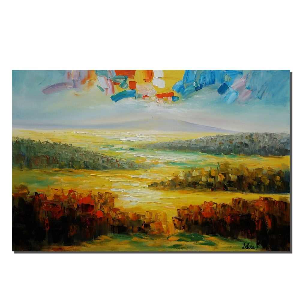 Abstract Oil Painting, Oil Painting Original, Contemporary Painting ...