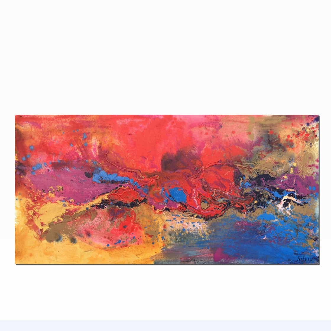 Large Abstract Painting, Original Abstract Painting, Wall Decor, Modern Painting, Painting Abstract, Bedroom Decor, Abstract Canvas Painting