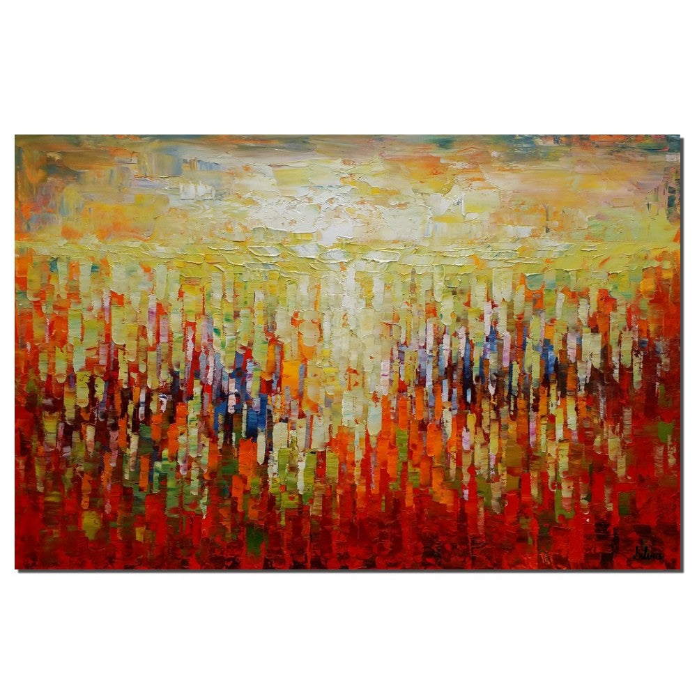 Modern Kitchen Paintings abstract canvas art, oil painting, large painting, kitchen wall
