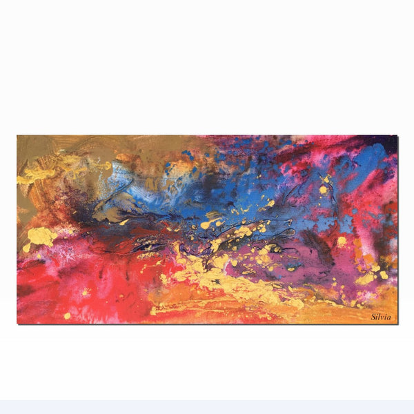 Oil Painting, Abstract Contemporary Painting, Abstract Canvas Painting, Kitchen Decor, Modern Wall Art, Original Painting, Abstract Art