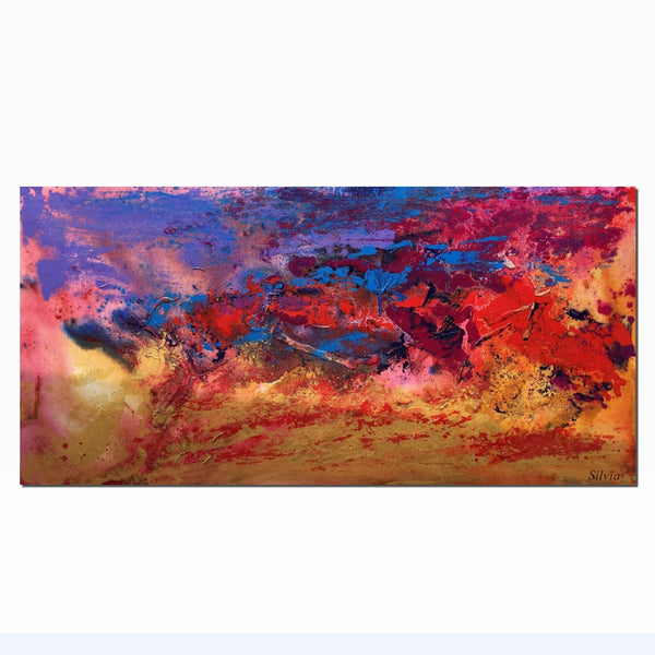 Abstract Wall Art, Contemporary Art, Abstract Canvas Art, Bathroom Wall Art, Large Canvas Painting, Original Artwork, Abstract Painting - Art Painting Canvas