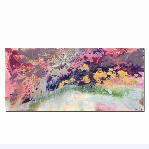 Art Painting - Abstract Painting, Large Abstract Art, Canvas Oil Painting, Original Modern Art, Bathroom Wall Decor, Oil Painting Abstract
