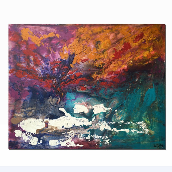 Abstract Painting, Oil Painting, Abstract Landscape, Contemporary Art, Abstract Art, Original Art, Abstract Canvas Painting, Large Painting - Art Painting Canvas