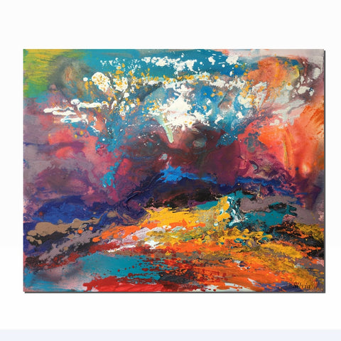 Canvas Art, Large Painting, Contemporary Painting, Large Wall Art, Original Landscape Oil Paintings, Living Room Decor, Abstract Painting - Art Painting Canvas