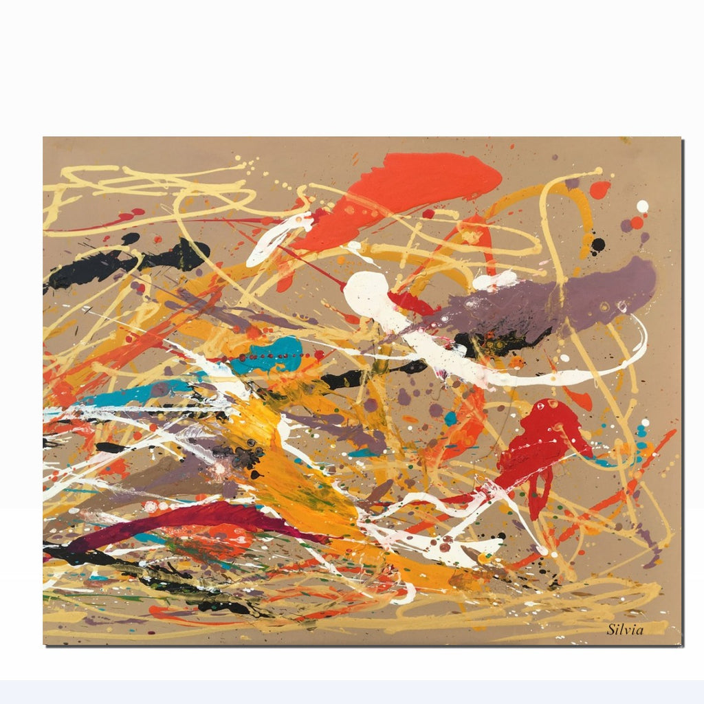 Large Canvas Painting Canvas Painting Abstract Painting Canvas Wall Art Abstract Art Contemporary Art Kitchen Wall Decor Original Art