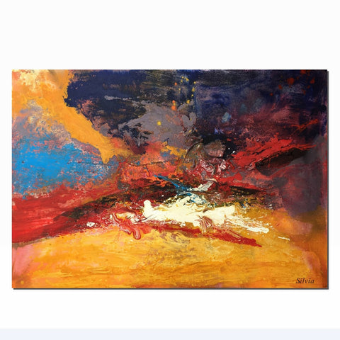 Abstract Painting, Abstract Canvas Painting, Wall Art, Oil Painting Original, Contemporary Art, Large Abstract Art, Landscape Painting