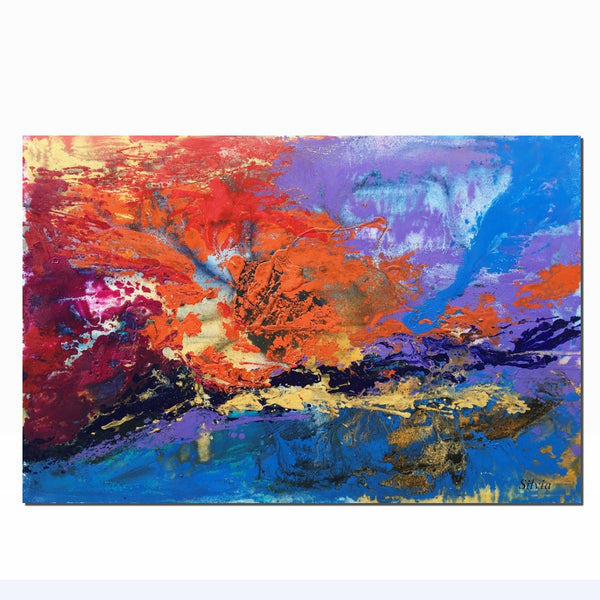 Abstract Painting, Oil Painting, Large Wall Art, Large Abstract Painting, Canvas Art, Modern Painting, Kitchen Decor, Oil Painting Original - Art Painting Canvas