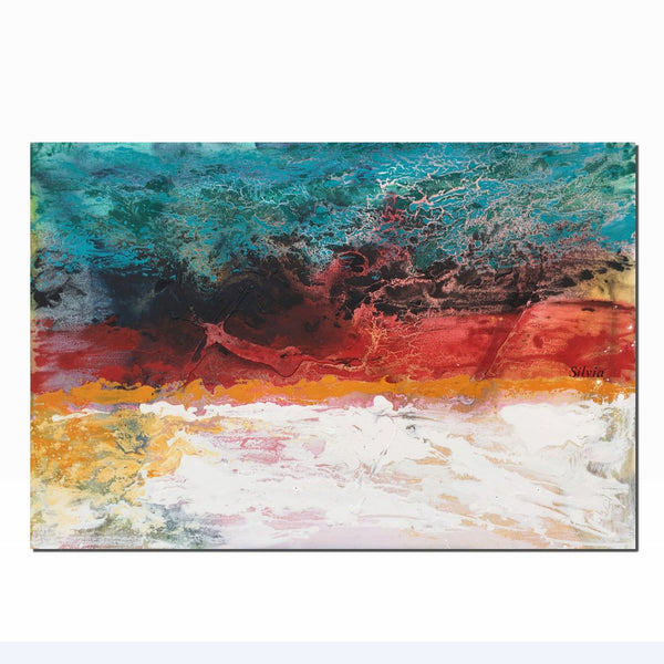 Canvas Wall Decor, Abstract Canvas Art, Large Canvas Painting, Original Oil Painting, Abstract Painting, Original Landscape Painting, Art - Art Painting Canvas