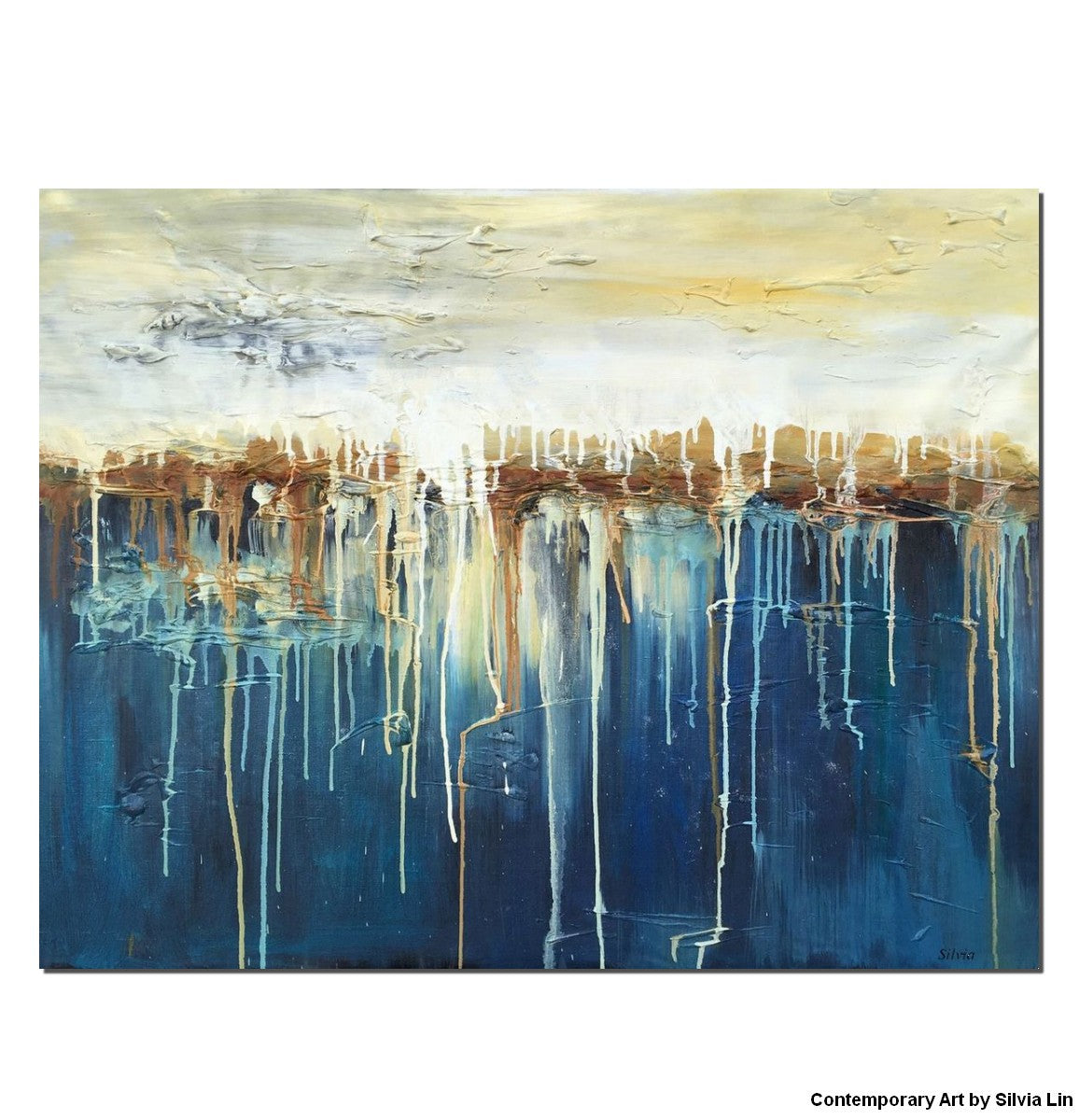Abstract Wall Art, Large Painting, Abstract Canvas Painting, Original, Abstract Oil Painting, Landscape Painting, Living Room Wall Decor