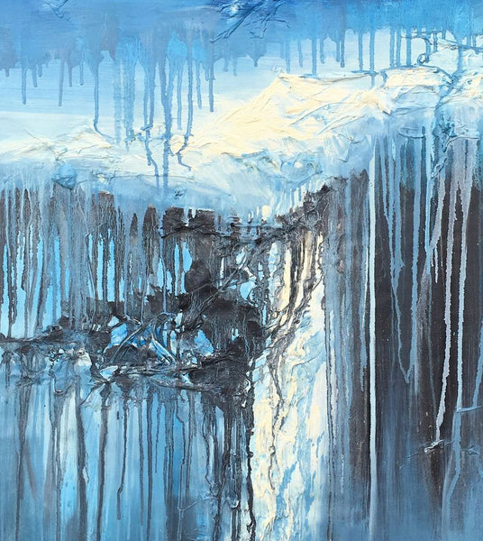 Oil Painting Abstract, Original Landscape Oil Paintings, Contemporary Painting, Original Abstract Painting, Abstract Canvas Art, Blue