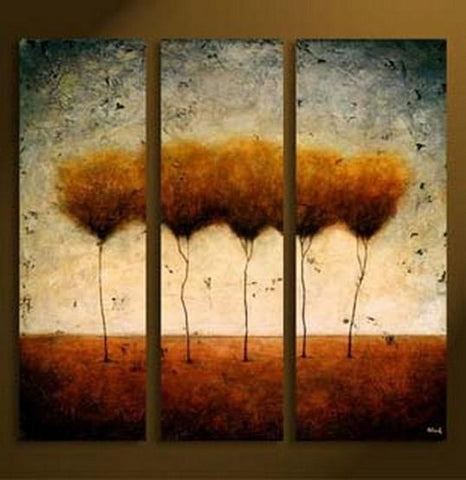 Tree of Life Painting, Abstract Art, Canvas Painting, Abstract Painting, Acrylic Art, 3 Piece Canvas Art