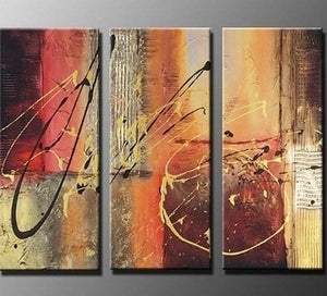Canvas Painting, Abtract Lines, Bedroom Wall Art, Canvas Painting, Abstract Art, Abstract Painting, Acrylic Art, 3 Piece Wall Art, Canvas Art