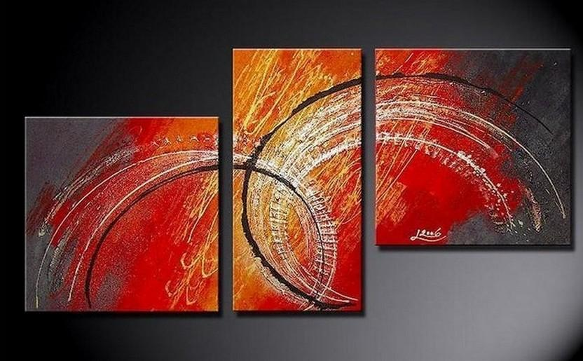 Abstract Wall Art, Bedroom Wall Art, Red Abstract Painting, Large Painting, Living Room Wall Art, Modern Art, Art on Canvas