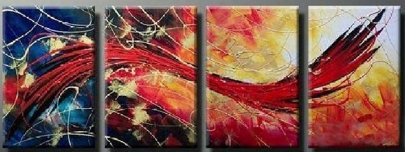 Red Abstract Painting, Abstract Art, Extra Large Painting, Living Room Wall Art, Modern Art, Extra Large Wall Art, Contemporary Art, Modern Art Painting