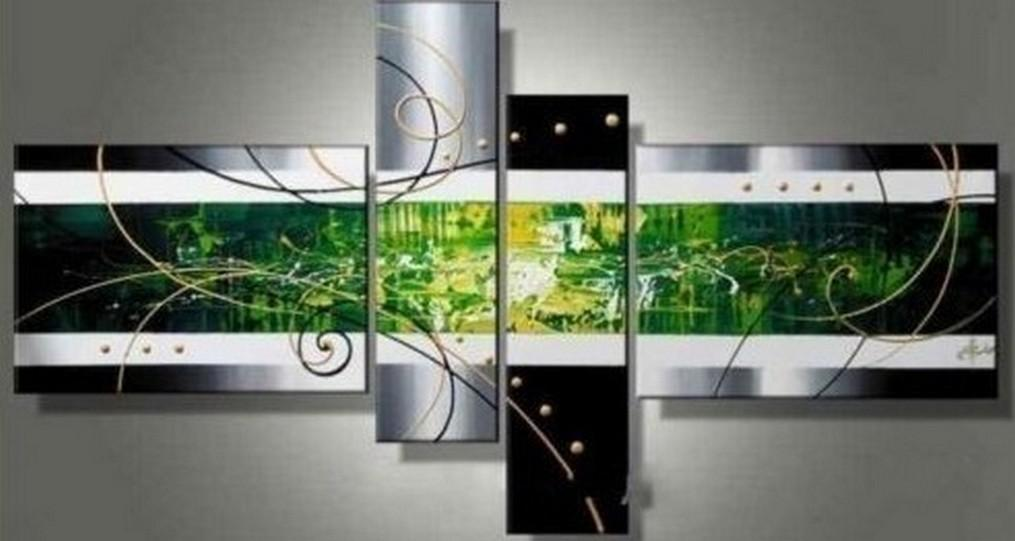 Canvas Art Painting, Acrylic Art, Abstract Art on Sale, 4 Panel Wall Art, Hand Painted Art, Group Painting - Art Painting Canvas
