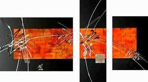 Home Art Decor, Dining Room Wall Art, Art on Canvas, Modern Art, Abstract Painting