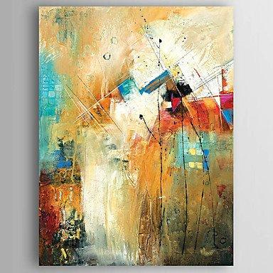 Kitchen Wall Art, Canvas Painting, Heavy Texture Painting, Abstract ...