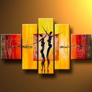 Abstract Art of Love, Canvas Painting, Acrylic Art for Sale, Huge Painting, Painting for Sale - Art Painting Canvas