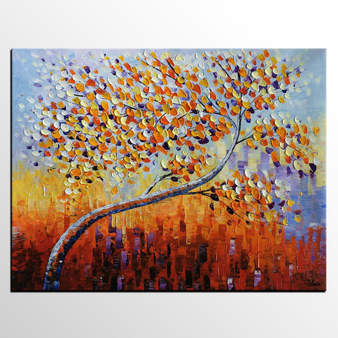 Large Canvas Art, Tree Art, Abstract Painting, Oil Painting, Canvas Painting, Abstract Art, Large Painting On Canvas, Contemporary Art, Original Art