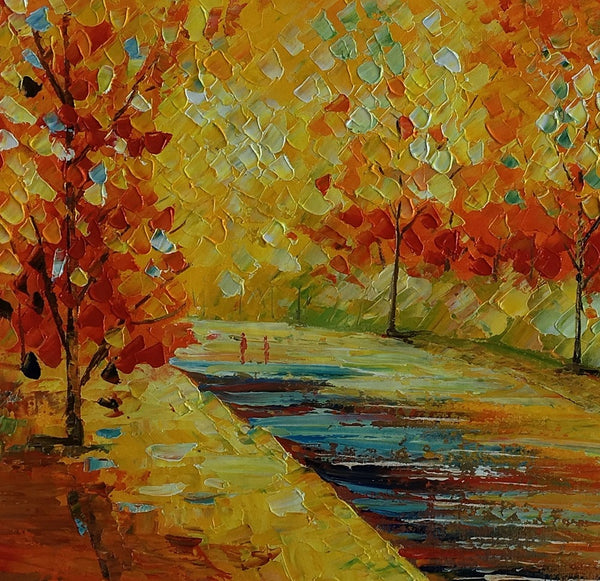 Forest Painting, Original Painting, Wall ainting, Oil Painting, Canvas Painting, Abstract Art, Wall Art Decor, Painting, Large Painting