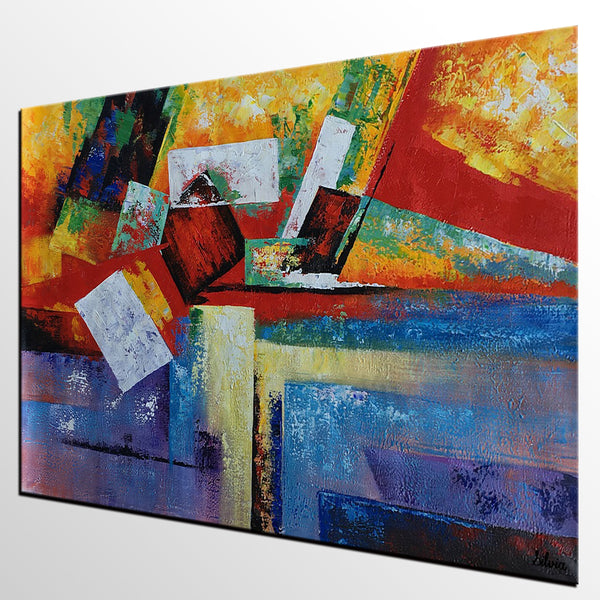 Abstract Art, Abstract Painting, Canvas Painting, Original Art, Large Oil Painting, Abstract Oil Painting, Living Room Wall Art, Modern Painting - Art Painting Canvas